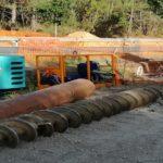 COBAS - Le Teich - Pose de 2.500 m de conduite AEP fonte DN250